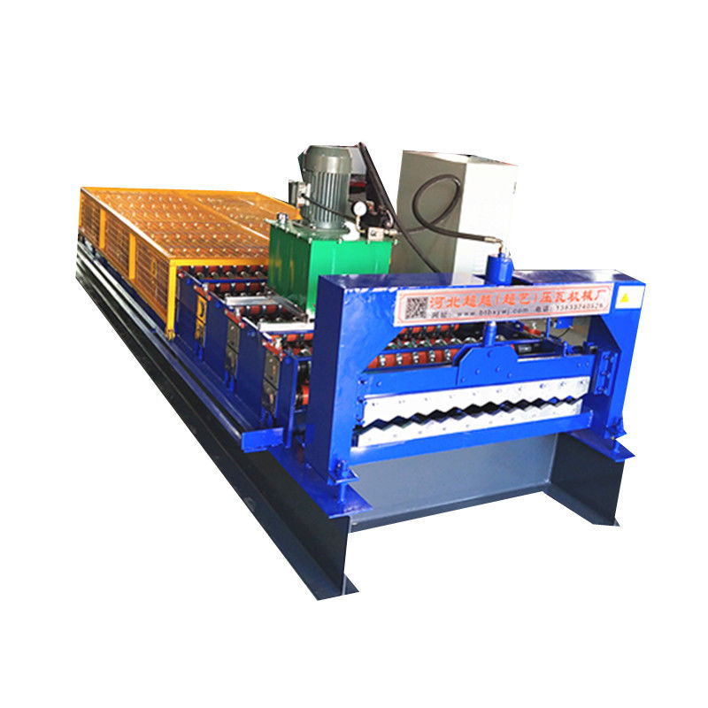 Cr 12 Blade Plate Corrugated Sheet Roll Forming Machine